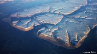 Arctic Canadian coastline