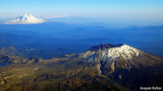 Mt. St. Helens, Mt. Adams