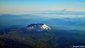 Mt. St. Helens, Mt. Hood