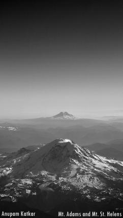 Mt. Adams, Mt. St. Helens