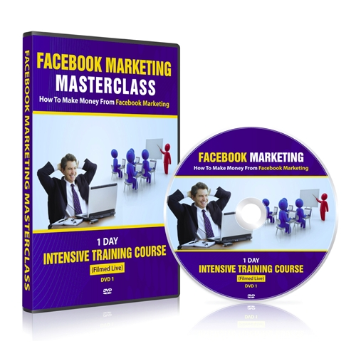 Sales Page for the Facebook Marketing Masterclass
