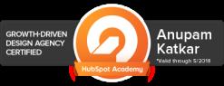 Hubspot Growth-Driven Design Certification
