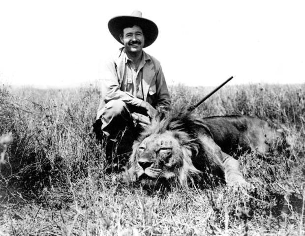 Hemingway-lion